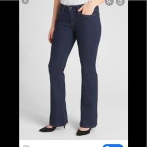 GAP Vintage Long and Lean Flare Jeans